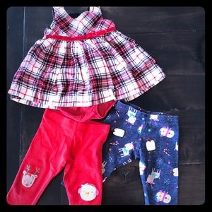 Other - 0-3 month baby girls Holiday lot